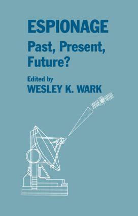 Espionage: Past, Present and Future?