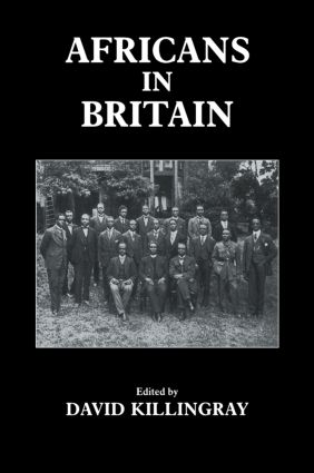 Africans in Britain (Paperback) book cover