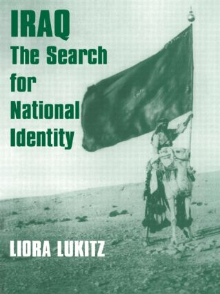 Iraq: The Search for National Identity, 1st Edition (Paperback) book cover