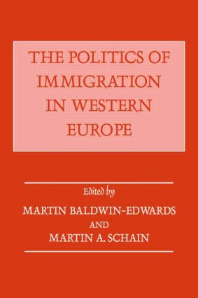 The Politics of Immigration in Western Europe: 1st Edition (Paperback) book cover