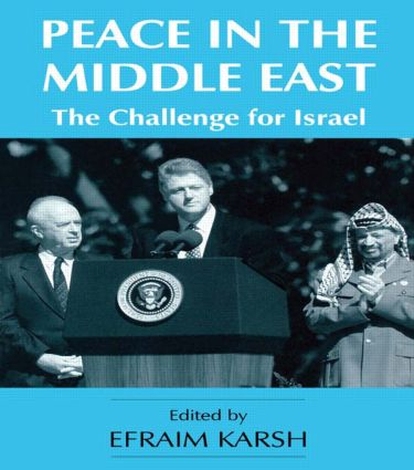 Peace in the Middle East: The Challenge for Israel (Paperback) book cover