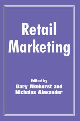 Retail Marketing: 1st Edition (Paperback) book cover