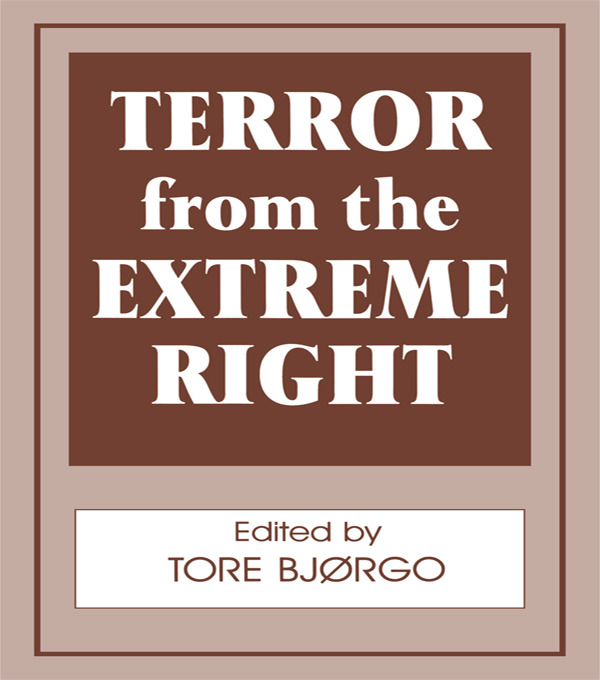 Terror from the Extreme Right: 1st Edition (Paperback) book cover