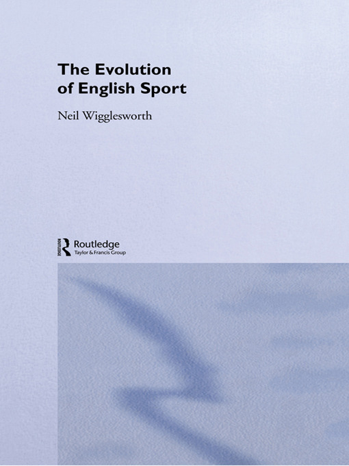 The Evolution of English Sport: 1st Edition (Hardback) book cover