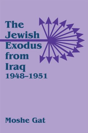The Jewish Exodus from Iraq, 1948-1951: 1st Edition (Paperback) book cover