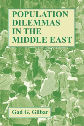 Population Dilemmas in the Middle East: 1st Edition (Paperback) book cover