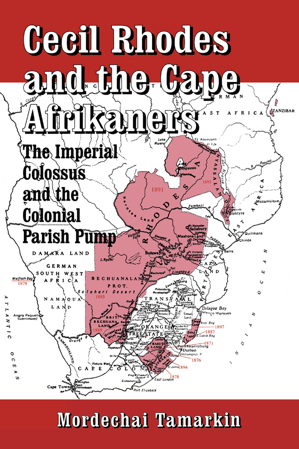 Cecil Rhodes and the Cape Afrikaners