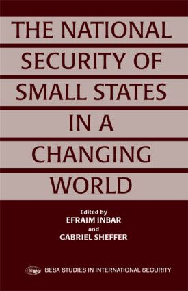 The National Security of Small States in a Changing World (Paperback) book cover