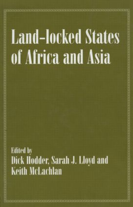 Land-locked States of Africa and Asia (Hardback) book cover