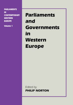 Parliaments in Contemporary Western Europe (e-Book) book cover