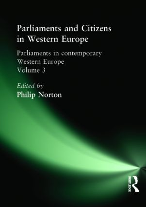 Parliaments and Citizens in Western Europe (Paperback) book cover