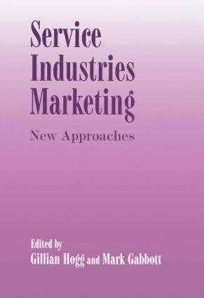 Service Industries Marketing: New Approaches (Paperback) book cover
