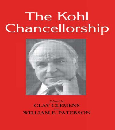 The Kohl Chancellorship: 1st Edition (Paperback) book cover