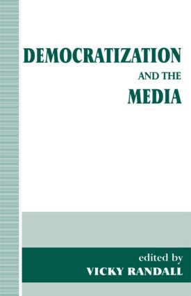 Democratization and the Media (Paperback) book cover