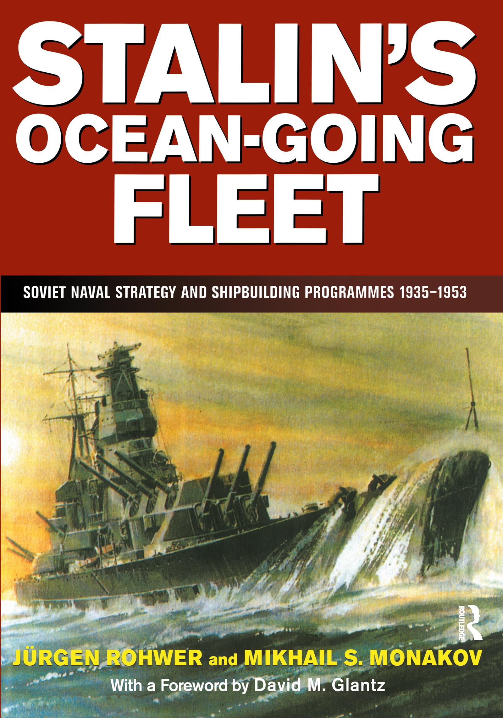 Stalin's Ocean-going Fleet: Soviet book cover