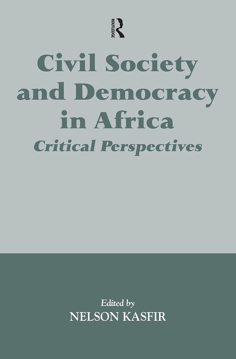 Civil Society and Democracy in Africa: Critical Perspectives, 1st Edition (Paperback) book cover