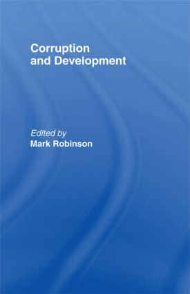 Corruption and Development: 1st Edition (Paperback) book cover
