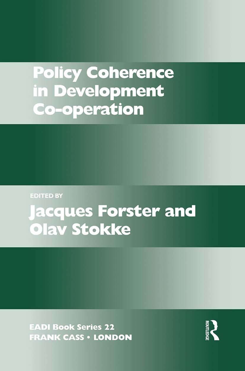 Policy Coherence in Development Co-operation (Paperback) book cover