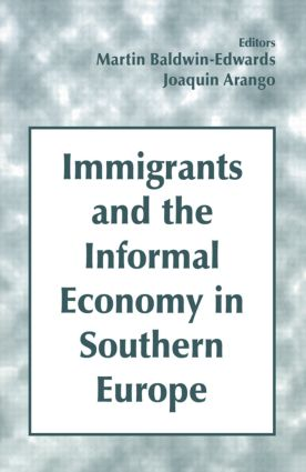 Immigrants and the Informal Economy in Southern Europe: 1st Edition (Paperback) book cover