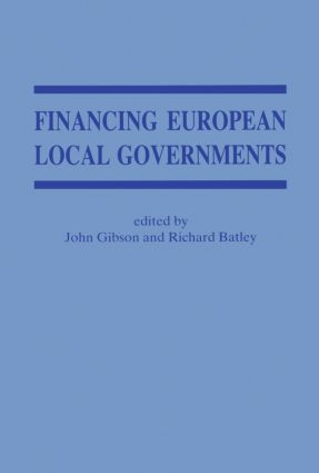 Financing European Local Government
