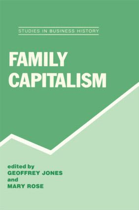 Family Capitalism (Hardback) book cover