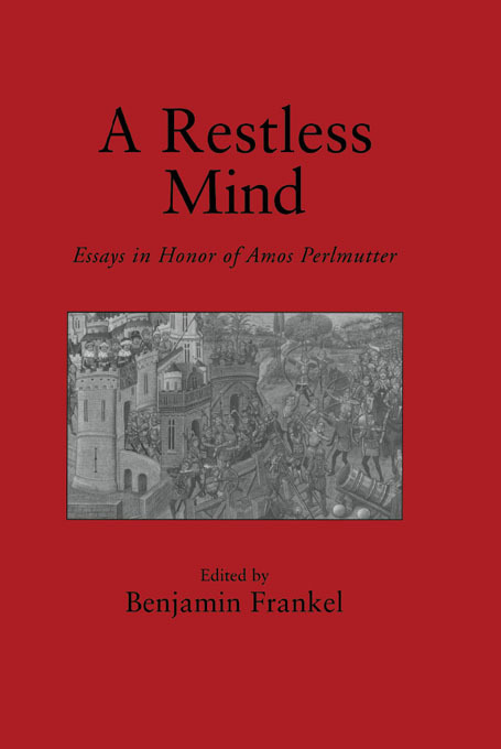A Restless Mind: Essays in Honor of Amos Perlmutter, 1st Edition (Hardback) book cover