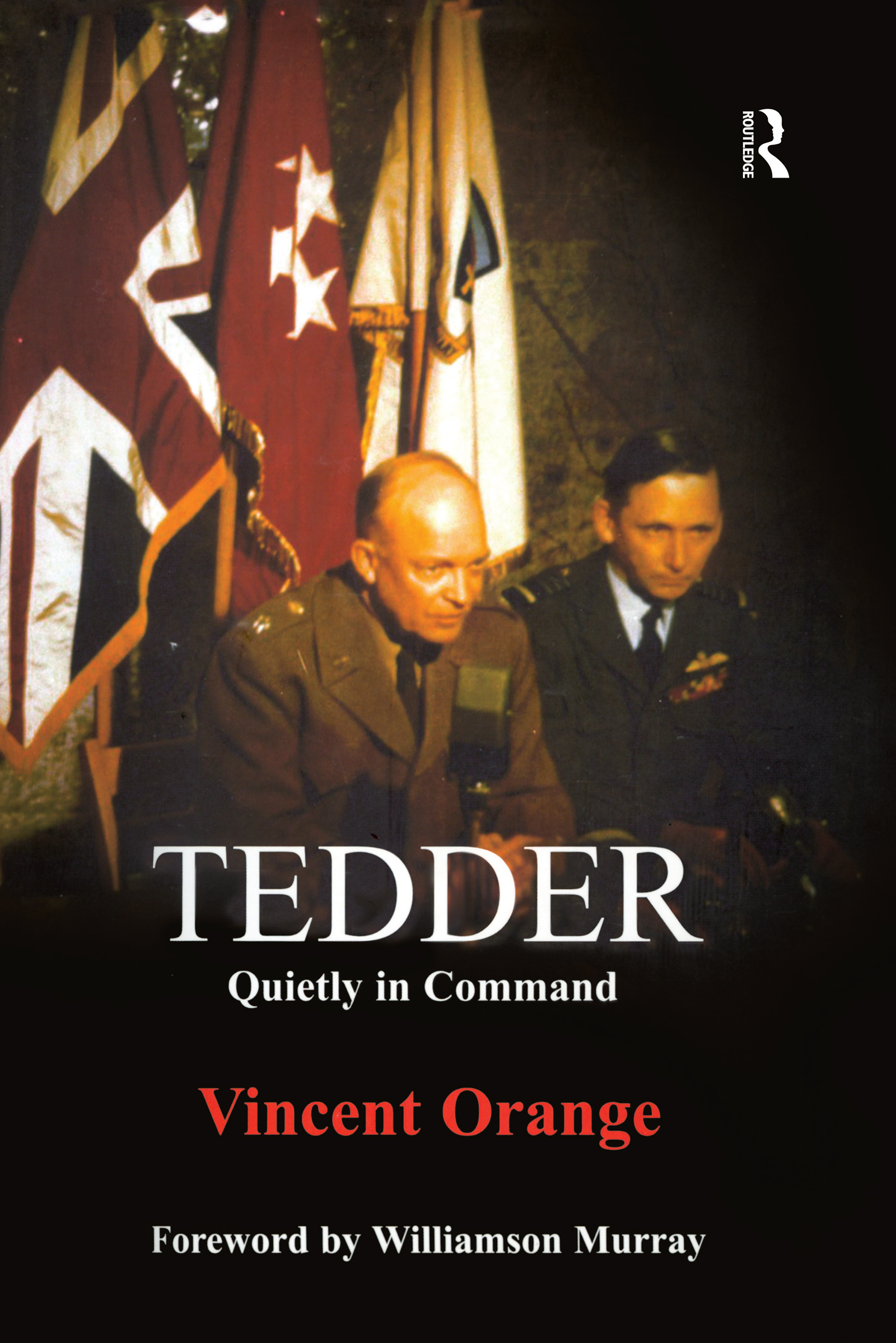 Tedder: Quietly in Command book cover