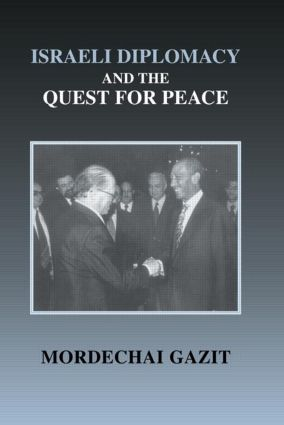 Israeli Diplomacy and the Quest for Peace (Hardback) book cover