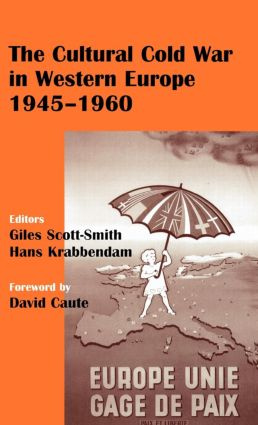 The Cultural Cold War in Western Europe, 1945-60 book cover