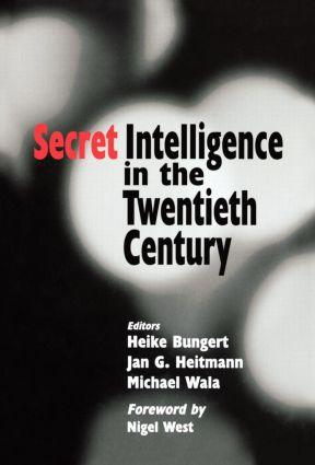 Secret Intelligence in the Twentieth Century book cover