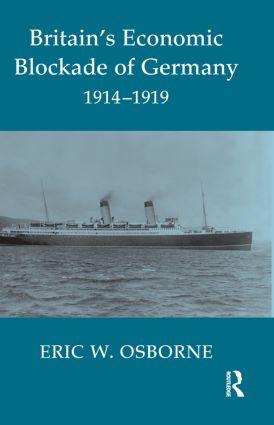 Britain's Economic Blockade of Germany, 1914-1919 book cover
