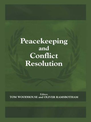 Peacekeeping and Conflict Resolution book cover