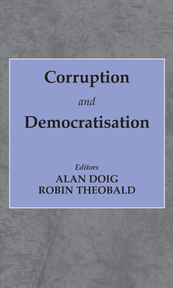 Corruption and Democratisation: 1st Edition (e-Book) book cover