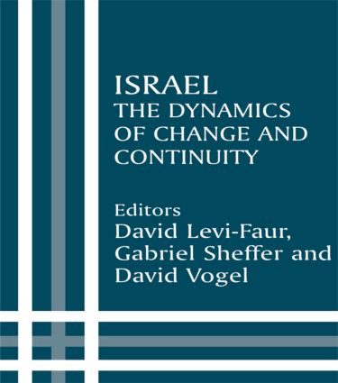 Israel: The Dynamics of Change and Continuity (Paperback) book cover