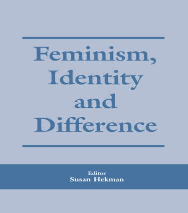 Feminism, Identity and Difference (Paperback) book cover