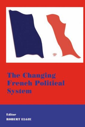 The Changing French Political System (Paperback) book cover