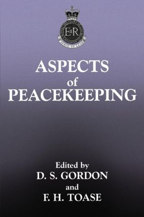 Aspects of Peacekeeping (Paperback) book cover