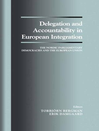Introduction: Delegation and Accountability in European Integration