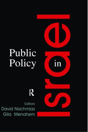Public Policy in Israel (Paperback) book cover