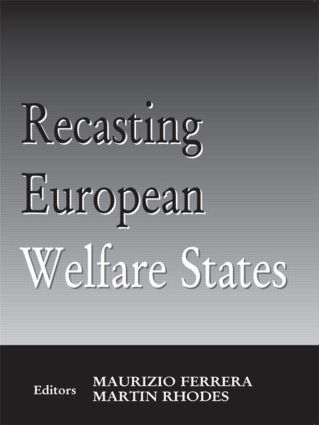 Recasting European Welfare States (Paperback) book cover