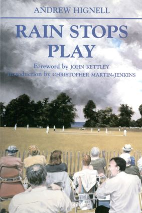 Rain Stops Play: Cricketing Climates, 1st Edition (Paperback) book cover