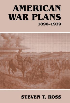American War Plans, 1890-1939: 1st Edition (Paperback) book cover