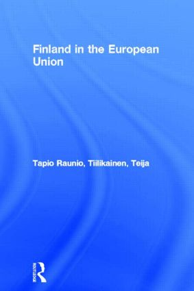 Finland in the European Union (Paperback) book cover