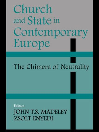 Church and State in Contemporary Europe (Paperback) book cover