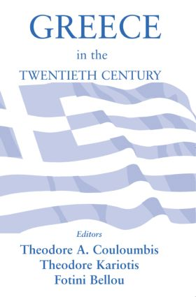 Greece in the Twentieth Century: 1st Edition (Paperback) book cover