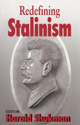 Redefining Stalinism book cover