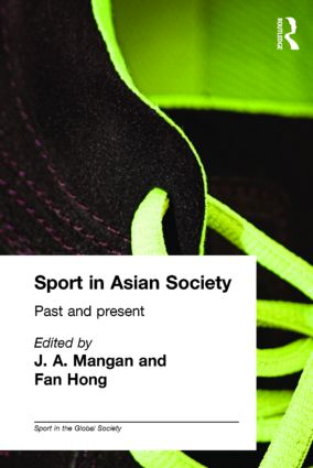Sport in Asian Society: Past and present (Paperback) book cover