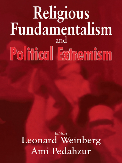 Religious Fundamentalism and Political Extremism (Paperback) book cover