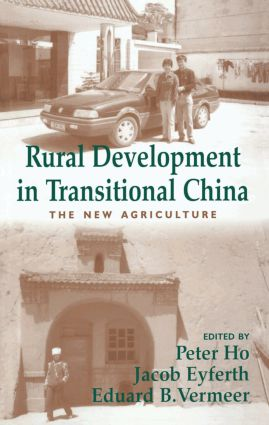 Rural Development in Transitional China: The New Agriculture, 1st Edition (Paperback) book cover
