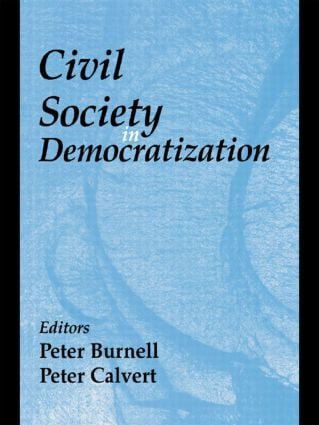Civil Society in Democratization: 1st Edition (Paperback) book cover